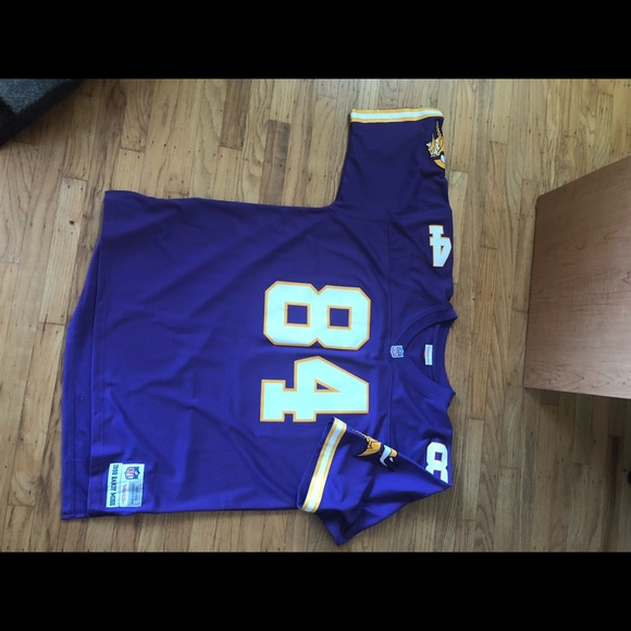 buy online 0e53a 5447c Randy Moss Vikings jersey 2XL Mitchell & Ness